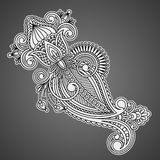 Vector decorative element. Royalty Free Stock Image