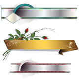 Vector decorative elements Stock Photography