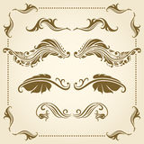 Vector decorative elements. Stock Images