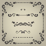 Vector decorative elements. Stock Photography