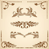 Vector decorative elements. Royalty Free Stock Photography