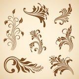 Vector decorative elements. Stock Photography