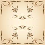 Vector decorative elements. Stock Photos
