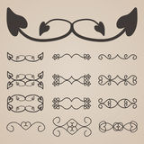 Vector decorative elements Royalty Free Stock Images