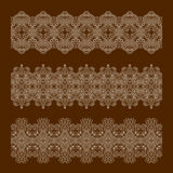 Vector decorative elements. Royalty Free Stock Image
