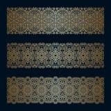 Vector decorative elements. Royalty Free Stock Photo