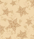 Vector decorative floral background illustration Royalty Free Stock Image