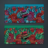 Vector decorative floral background Royalty Free Stock Photos