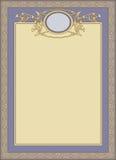 Vector decorative frame Royalty Free Stock Photo