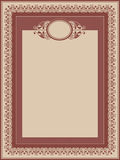 Vector decorative frame Stock Image