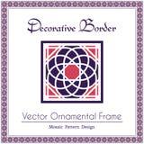 Vector decorative frame Stock Photos