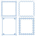 Vector of decorative frame Stock Photos