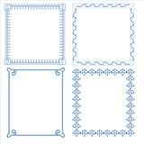Vector of decorative frame. Vector set of decorative for frame Royalty Free Illustration