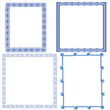 Vector of decorative frame Stock Image