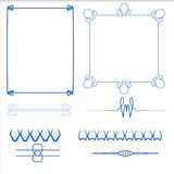 Vector of decorative frame. Vector set of decorative for frame Royalty Free Stock Photography