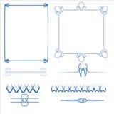 Vector of decorative frame. Vector set of decorative for frame Stock Illustration