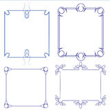 Vector of decorative frame Royalty Free Stock Photos