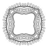 Vector Decorative Frame for Text Stock Image