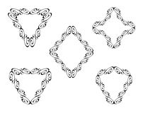 Vector decorative frames. Border design stock illustration