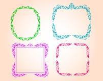 Vector decorative frames Stock Photo