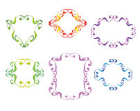 Vector decorative frames Royalty Free Stock Photography