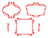 Vector decorative frames Royalty Free Stock Image