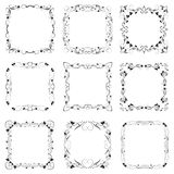 Vector decorative frames. The Vector of decorative frames Royalty Free Stock Photography
