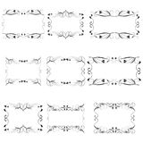 Vector decorative frames Royalty Free Stock Images