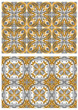 Vector decorative golden seamless Stock Photo