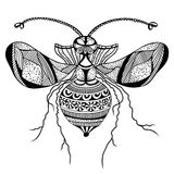 Vector decorative insect butterfly Royalty Free Stock Photos