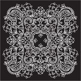 Vector decorative lace Stock Image