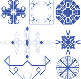 Vector of decorative line art. Vector set of decorative for symbol  corner Vector Illustration
