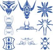 Vector of decorative line art. Vector set of decorative for symbol  corner Royalty Free Illustration