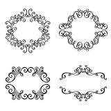 Vector Decorative Ornamental Frame for Text Stock Images