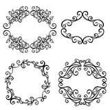 Vector Decorative Ornamental Frame for Text royalty free illustration