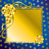 Vector decorative present background Royalty Free Stock Photos