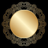 Vector decorative round element. Royalty Free Stock Images