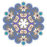 Vector decorative round element. Royalty Free Stock Photos