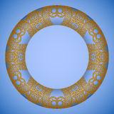 Vector decorative round elements. Stock Photography