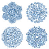 Vector decorative round elements. Stock Photos