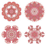 Vector decorative round elements. Royalty Free Stock Image
