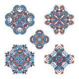 Vector decorative round elements. Stock Image