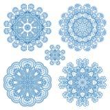 Vector decorative round elements. Stock Photo