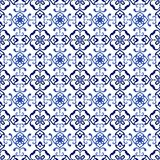 Vector decorative seamless pattern background. Royalty Free Stock Photography
