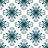 Vector decorative seamless pattern background. Stock Photo