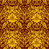 Vector decorative seamless pattern Stock Images