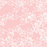 Vector decorative seamless pattern Royalty Free Stock Photo