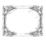 Vector Decorative Vintage frames 1 Royalty Free Stock Image
