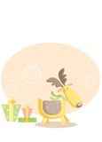 Vector deer Royalty Free Stock Photo