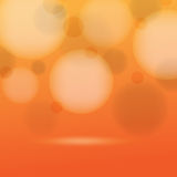 Vector defocused lights infographic background Royalty Free Stock Photos